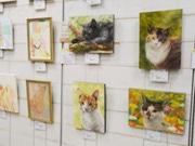 池袋ハンズで「ねこ展」 絵画・手作り品を展示販売 ねこふくろうイベントも