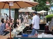 池袋のグリーン大通りで屋外飲食空間イベント 18店が参加