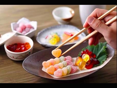和食風なグミの食卓