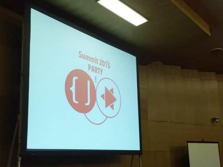 Code for Japan Summit(コード・フォー・ジャパン・サミット) 2015」会場の様子