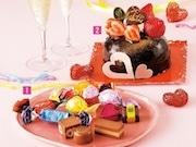 東武池袋でバレンタイン企画 にぎりずし型チョコやハート型総菜メニューも