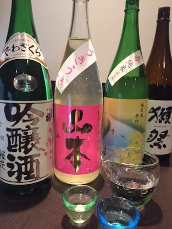「獺祭」など日本酒含めた10種類が飲み放題