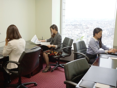 サーブコープの女性専用シェアオフィス