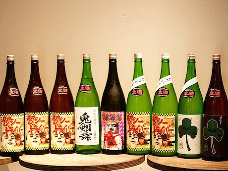 池袋の日本酒飲み放題店で蔵元企画 「タクシードライバー ...