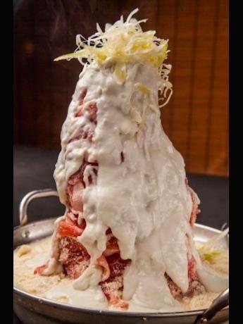 「肉肉肉×29(にく)盛り豆乳チーズ鍋~雪山仕立て~」