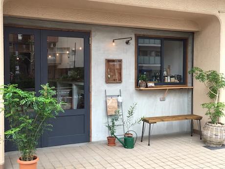 カフェ「SOROR」店舗外観