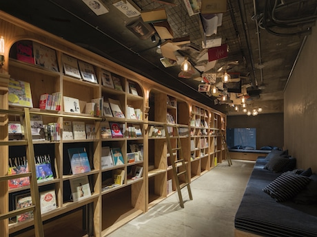 「BOOK AND BED TOKYO」店内の様子