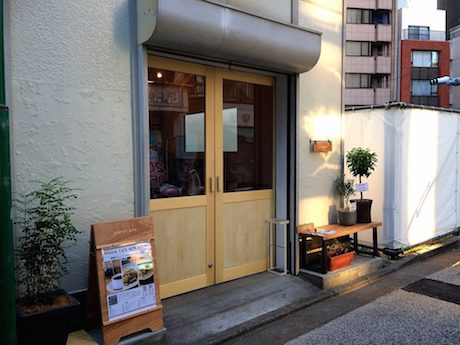 「yurucafe」店舗外観