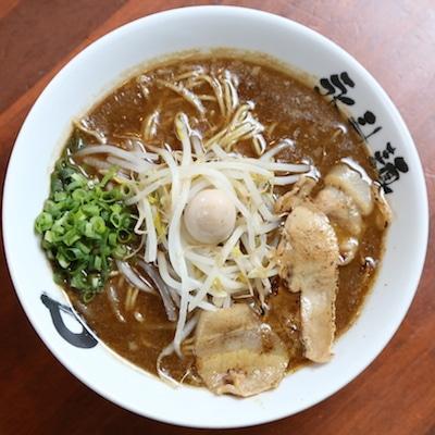 永斗麺の「さんまラーメン」