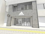 「アディダス ブランドコアストア池袋」、スタジアムをコンセプトにリニューアル