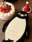 ホテルメトロポリタンに「Suicaのペンギン クリスマスケーキ」2種
