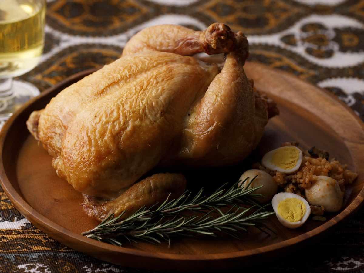 「特製ローストチキン(丸鶏)」