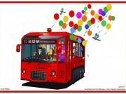 池袋の「電気バス」、トータルデザイン発表 2019年運行開始へ