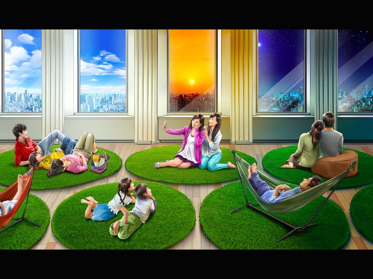「空ピクニック」イメージ