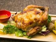 「ひな鶏のロティサリーチキン ソルト&ガーリック」
