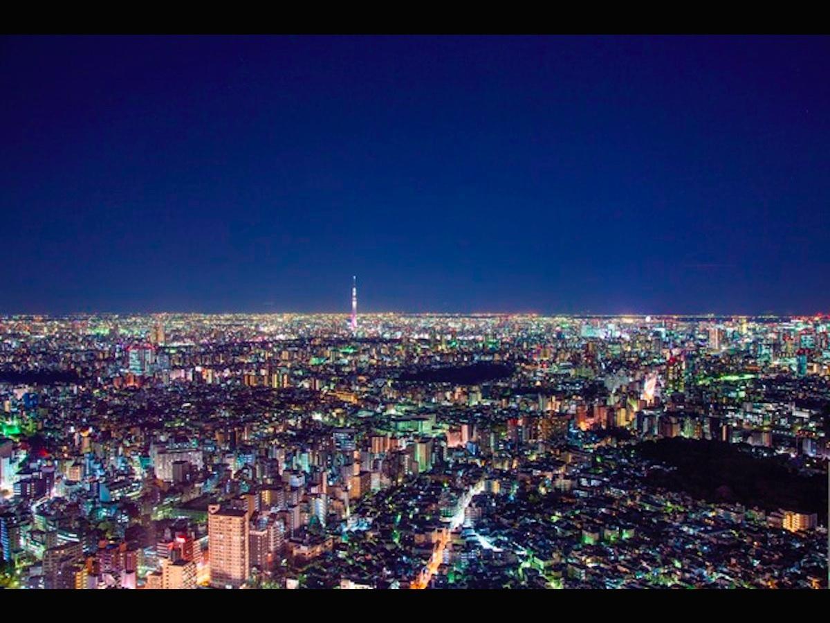 「SKY CIRCUS(スカイサーカス) サンシャイン60展望台」からの夜景