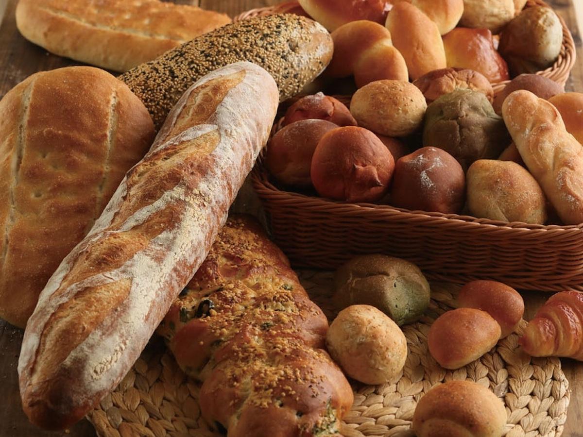 15種類以上のパンが食べ放題