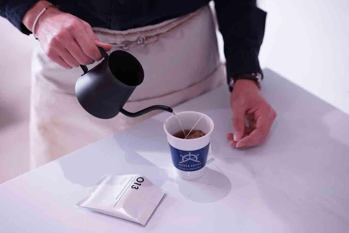 「フィロコフィア」のコーヒー