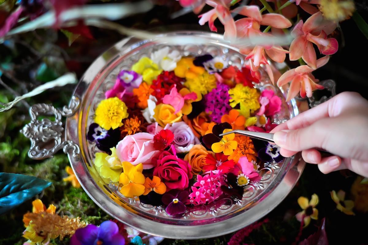 エディブルフラワー(食べられる花)