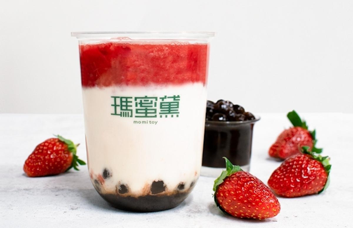 タピオカ特製いちごミルク