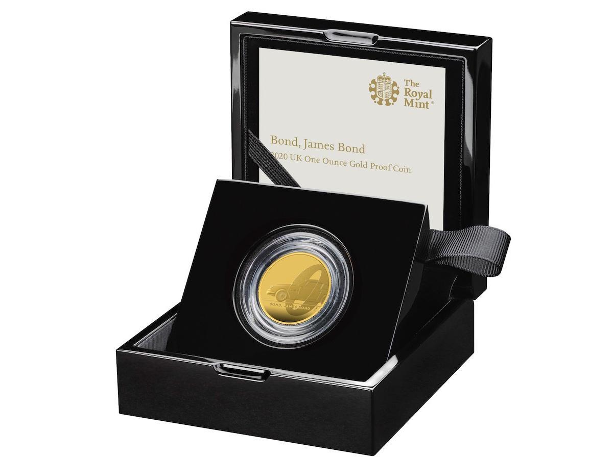 「007 ジェームズ・ボンド 公式記念コイン」