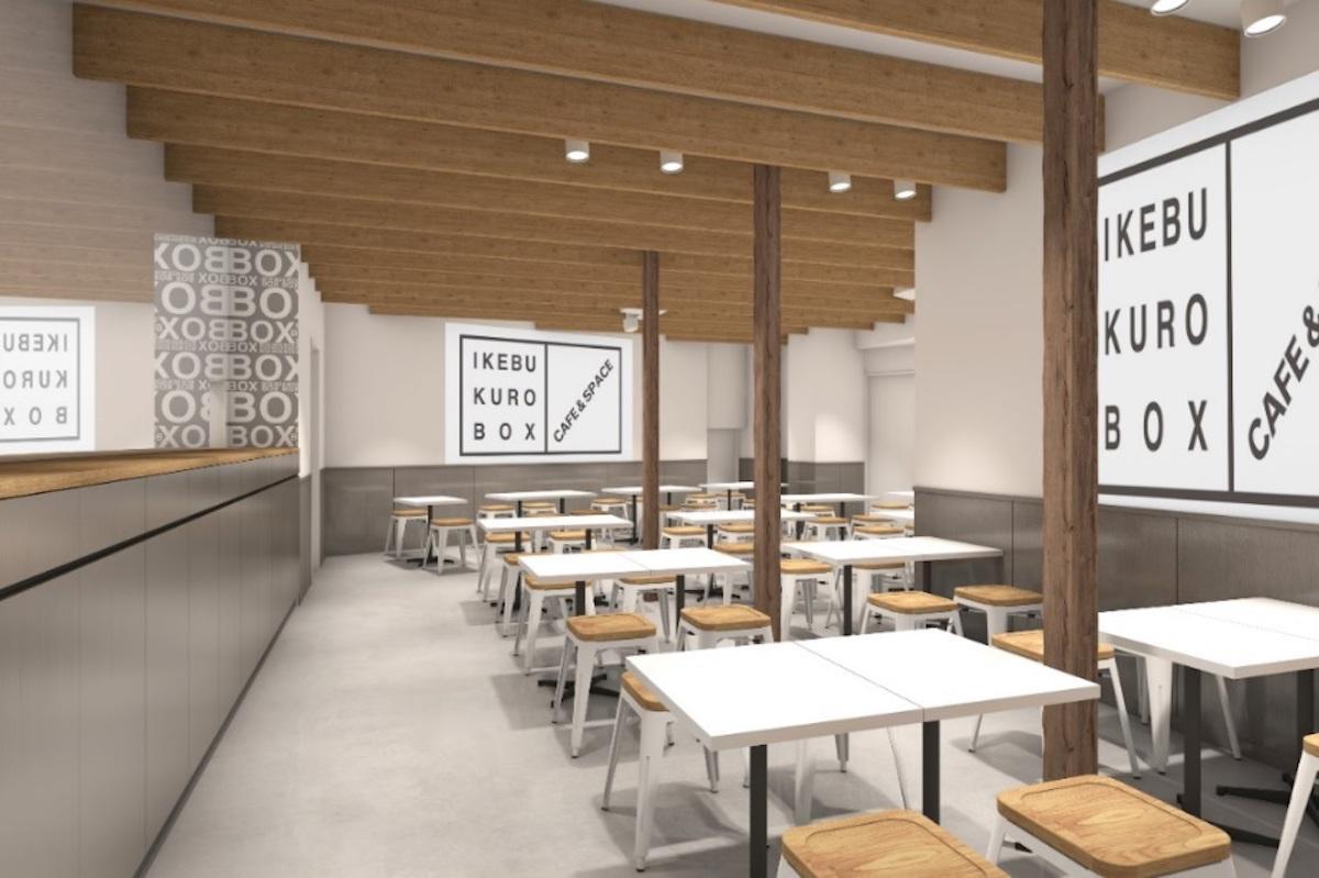 「IKEBUKURO BOX cafe&space」