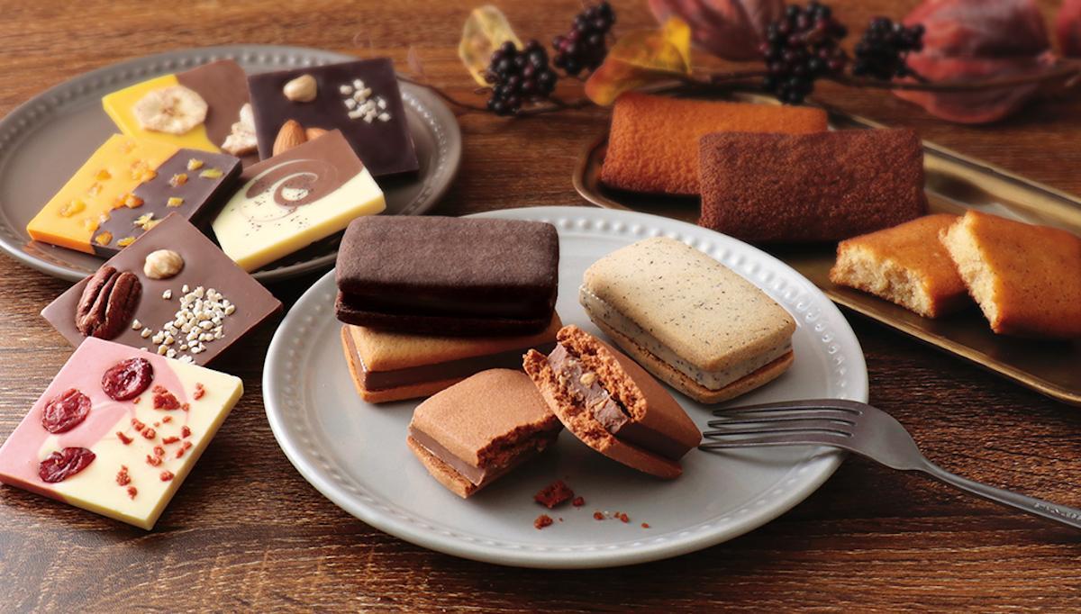 ショコラや焼き菓子などを販売