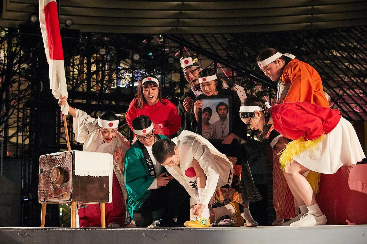 「NIPPON・CHA! CHA! CHA!」初日の様子(撮影:住田麿音さん)