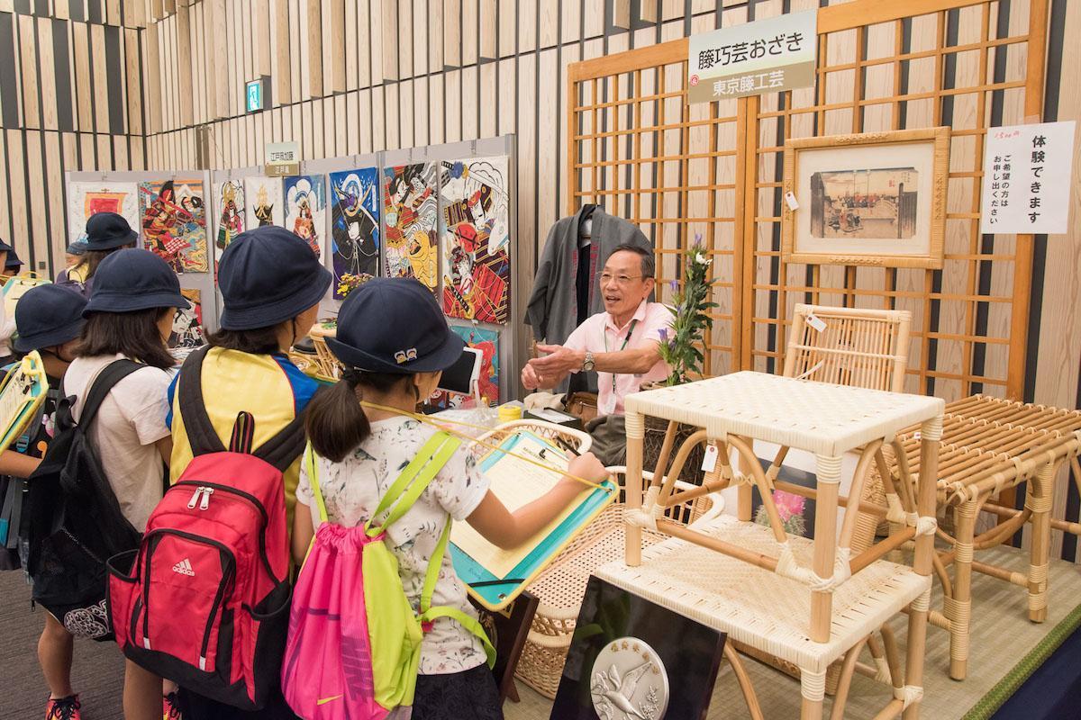 「豊島区伝統工芸展」過去開催時の様子
