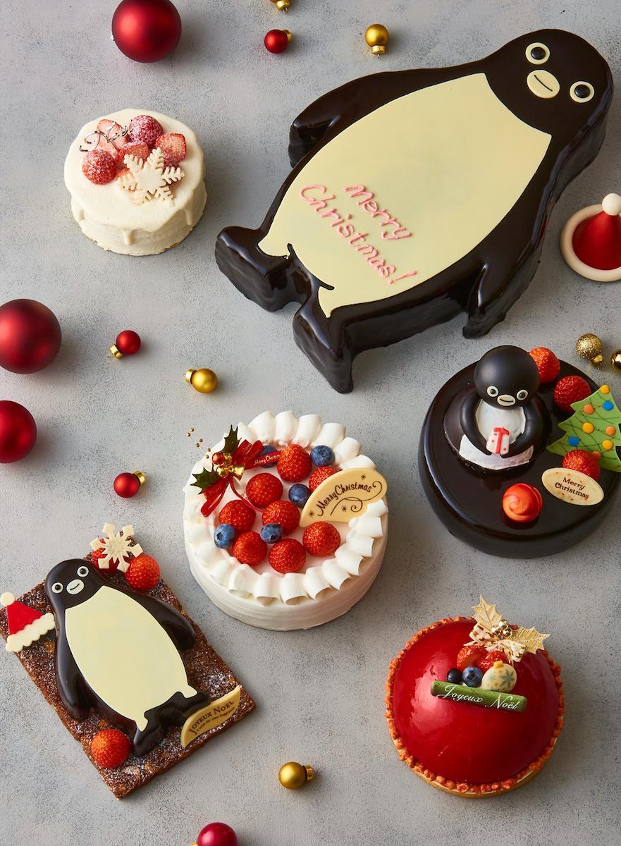 「Suicaのペンギン」のクリスマスケーキ©C.S/JR東日本/D