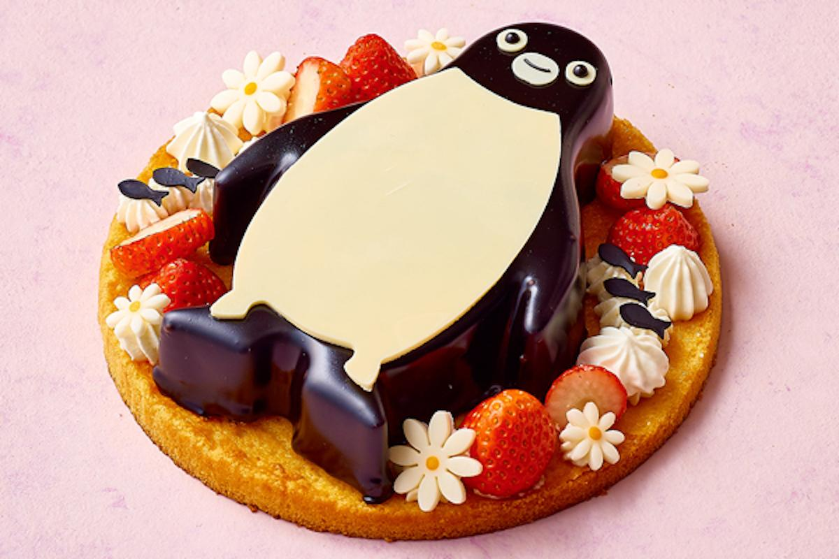 「Suicaのペンギン ホワイトチョコレートケーキ」© C.S/JR東日本/D
