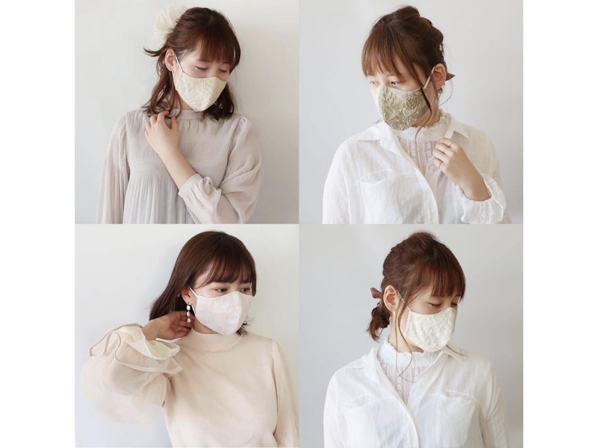 春の新作マスクも入荷