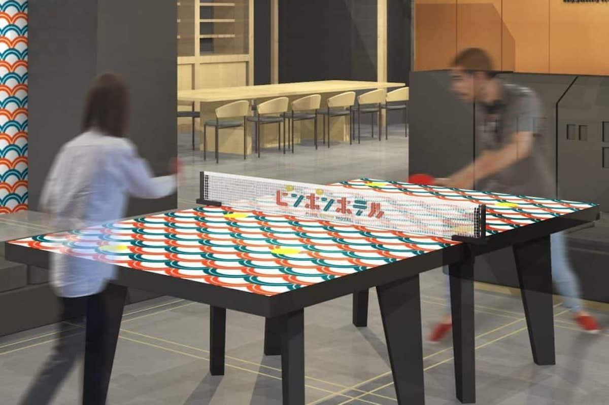 イベント特別デザイン卓球台