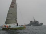 国内で最も歴史のある外洋ヨットレースに34艇が参加