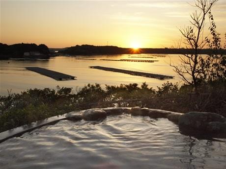 賢島宝生苑に新たな天然温泉「朝なぎの湯・夕なぎの湯」