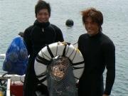 志摩の「イケメン海女」、地域に溶け込み活力作る-今年の海女漁始まる