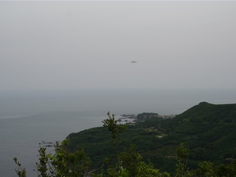 「UFOか?」-ホテルタラサ志摩の従業員が撮影した1枚の写真が話題に