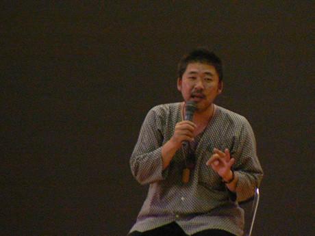 伊勢の中村文昭さん、引きこもりや、ニートたちを北海道に集め、農業を通して自立することを学べるように展開する「耕せにっぽん!」のエピソードを披露。(志)