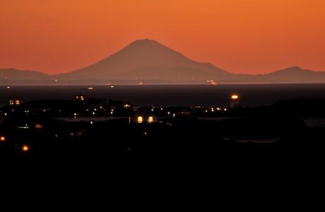 伊勢志摩から200キロ離れた富士山、7日連続観測-7日は裾野までくっきり(撮影=泊正徳さん)
