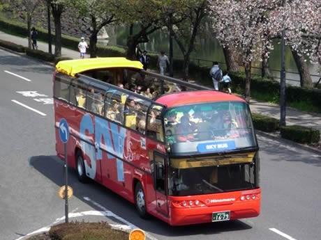 伊勢に開放感いっぱいのオープントップバス、今年の夏運行-東海地区初。写真は伊勢を走る同型のもの