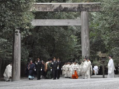 今年の五穀豊穣祈る「祈年祭」早くも伊勢神宮で-黒田清子臨時祭主が奉仕