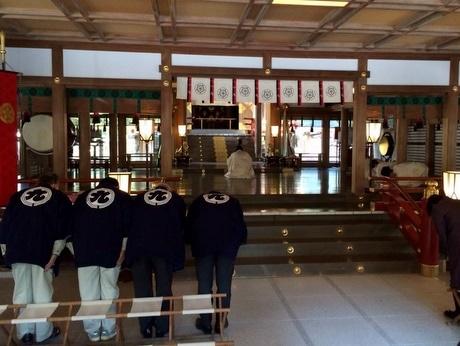 猿田彦神社の社殿新たに-造営工事を開始する祭典始まる