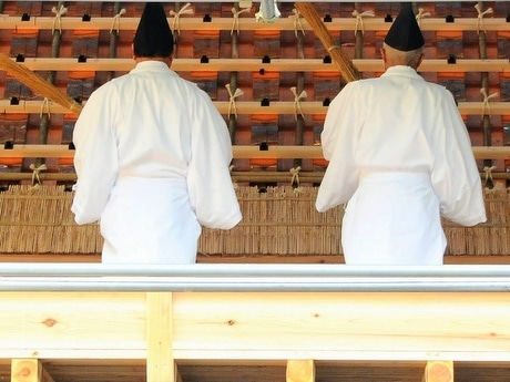 ヤマトタケルに草薙剣を与えたおばさま祭る伊勢神宮「倭姫宮」で式年遷宮行事