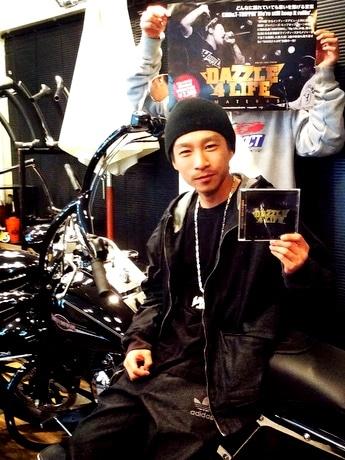 伊勢志摩出身のヒップホップグループD4L、ベストCD「アマテラス」をリリース(写真はトークボックス担当のT-TRIPPINさん)