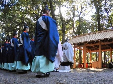 ヤマトタケルの叔母「倭姫命」祭る「倭姫宮」で遷御の儀(写真は12月9日の川原大祓)