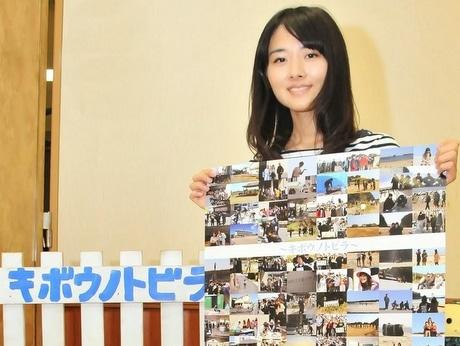 【その他の画像】志摩で映画「校歌の卒業式」シリーズ第2弾、新人女優の桐島ココさん主役に