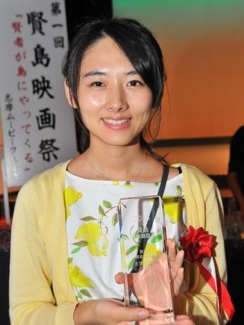 第1回「賢島映画祭」、GPは「けの汁」 主演女優賞は伊勢出身の桐島ココさん(写真は桐島ココさん)