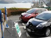 伊勢の旅館「海の蝶」にEV普通充電器24台設置 宿泊中に満充電