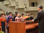 皇學館大学で卒業式、680人が旅立つ 神社や教育関係などに