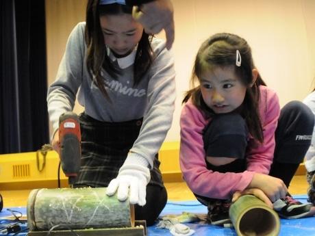 「伊勢志摩サミット」竹の明かりでおもてなし 津市でもワークショップ